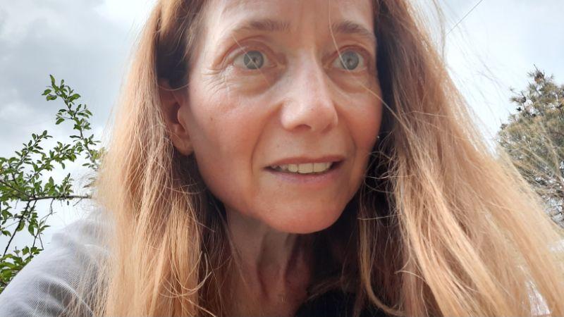 Brigitte Renz auf Fotojagd ertappt